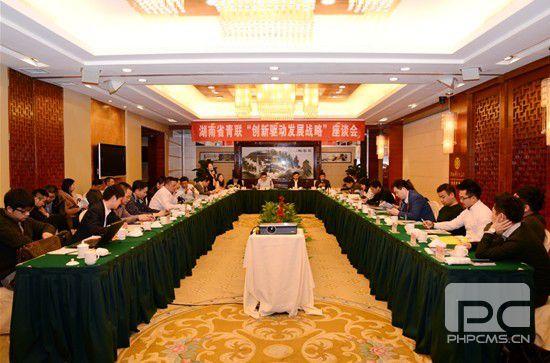 """省青聯""""創新驅動發展戰略""""座談會在長沙召開"""