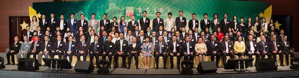 團省委副書記、省青聯副主席廖良輝出席香港菁英會第六屆